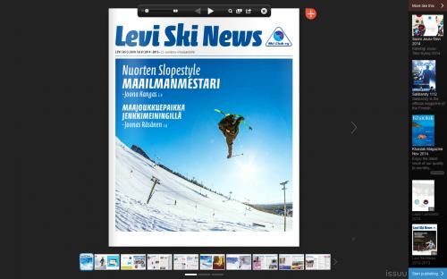 Levi Ski News 2014-2015